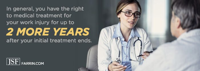 Medical care might continue 2 more years even after doctor says nothing more to offer.