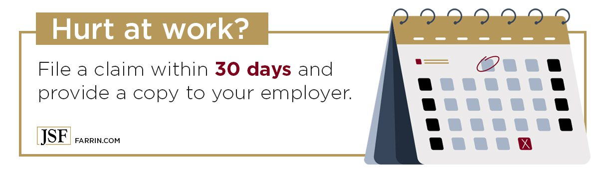 File a workers' comp claim