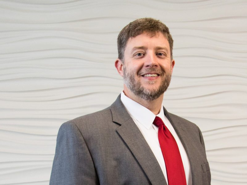 Attorney Barry Jennings ready to help injured workers' compensation clients.