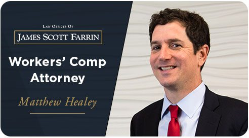 """Matt Healey, head of JSF workers' comp department and two-time Raleigh """"Lawyer of the Year"""""""