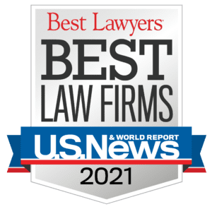 US News Best Law Firm badge