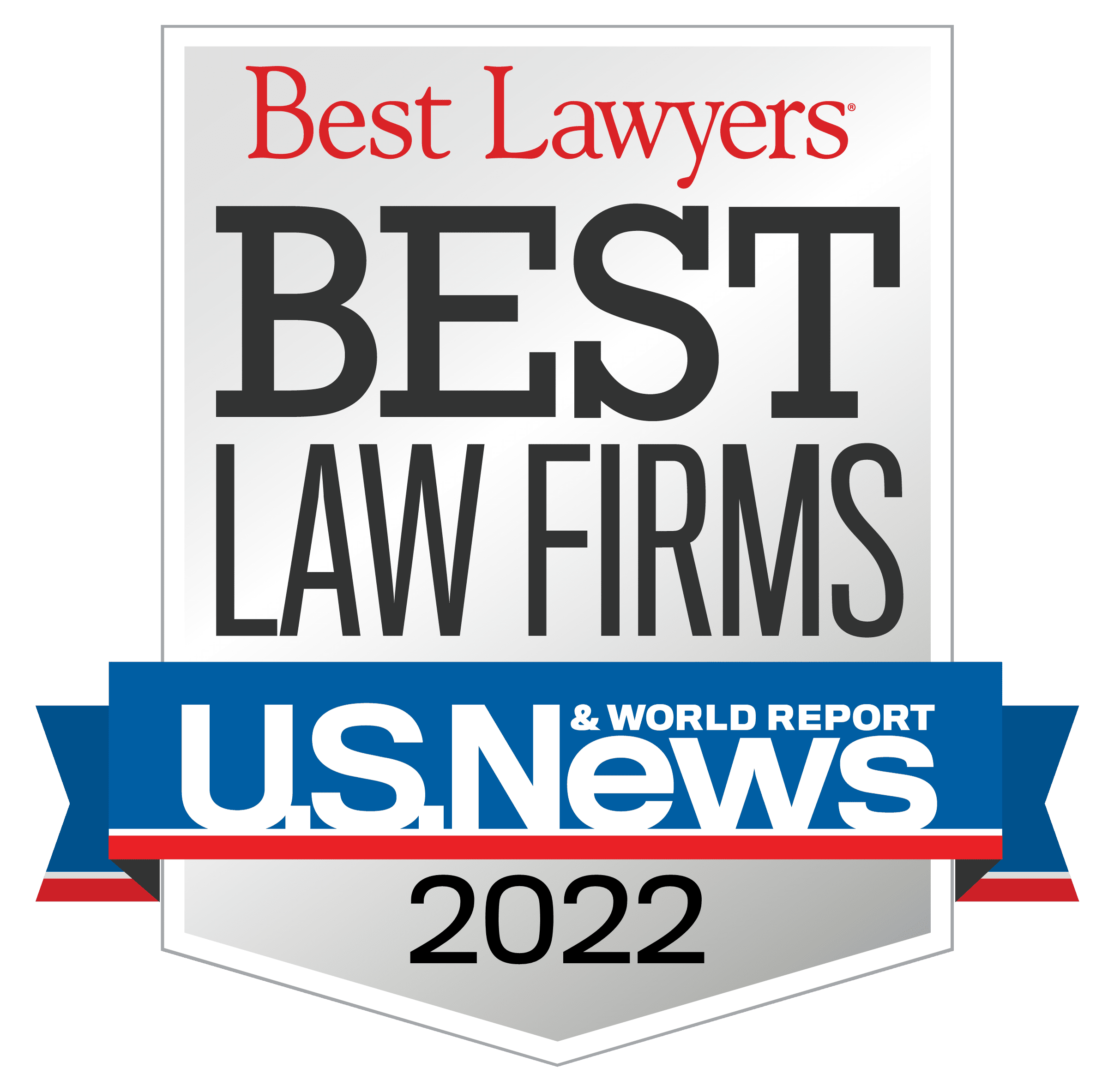 Best Law Firms Standard Badge for 2021
