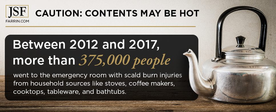 """""""Between 2012 and 2017, over 375,000 people went to the ER with burn injuries from household sources."""""""