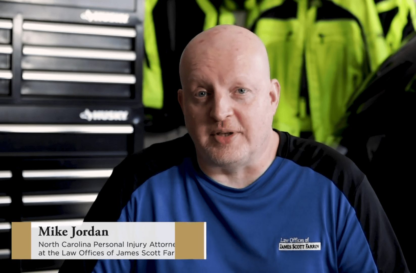 Mike Jordan talks about motorcycle accidents