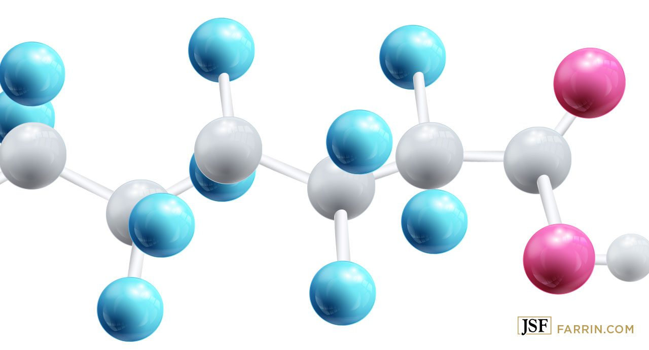 The compound of perfluoroalkyl and polyfluoroalkyl substances (PFAS) a man-made chemical