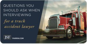 Important questions you can ask when interviewing Durham truck accident attorneys