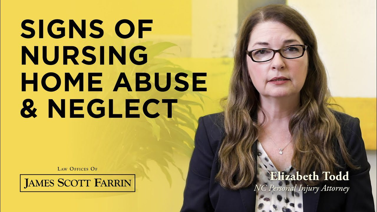 Signs of Nursing Home Abuse and Neglect with attorney Elizabeth Todd