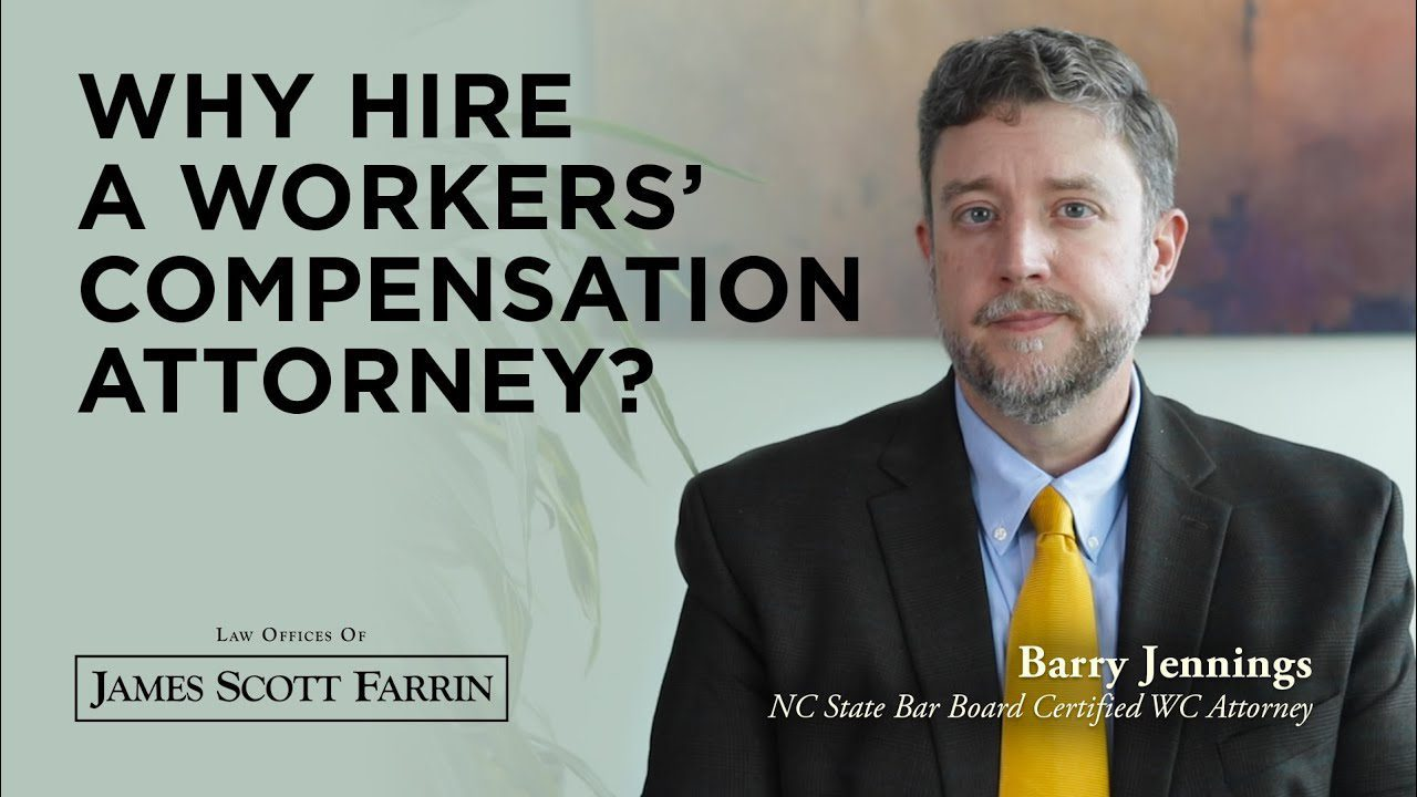 Barry Jennings shares Why Hire a Workers' Compensation Attorney?