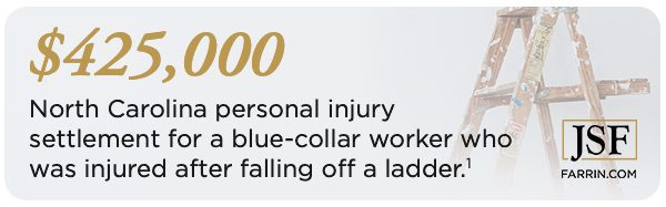 North Carolina personal injury settlement client review