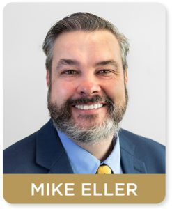 Workers compensation attorney Mike Eller at the Law Offices of James Scott Farrin