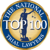 Logotipo del top 100 The National Trial Lawyers